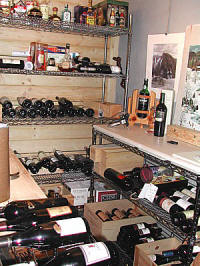 Wine cellar for your private stock!
